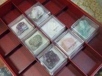 地球の鉱物コレクション